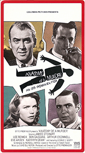 ANATOMY OF A MURDER, a classic film produced by Otto Preminger