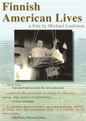 cover of 1982 documentary FINNISH AMERICAN LIVES