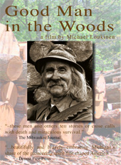 cover of 1988 documentary GOOD MAN IN THE WOODS